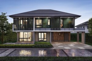 Contemporary style house, Contemporary style